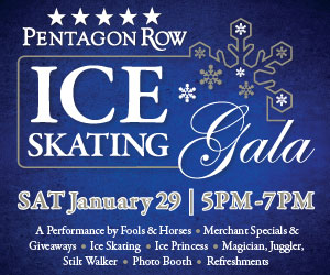 Pentagon Row Ice gala