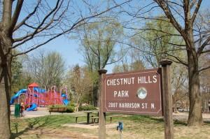 Chestnut Hills Park Arlington VA
