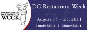 DC Restaurant Week