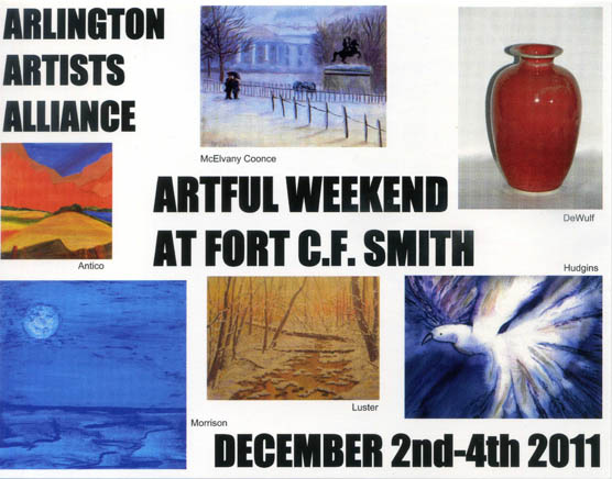 Arlington Artists Alliance Artful weekend at Fort CF Smith